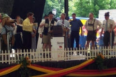 Germanfest 2005 opening ceremony
