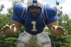 2008 BBQ Ribfest: Giant Indianapolis Colts player