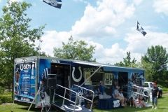 2008 BBQ Ribfest: Colts travelling exhibit