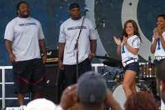 2008 BBQ Ribfest: Colts Players