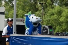 2008 BBQ Ribfest: Blue, The Indianapolis Colts Mascot