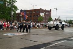 FWPD Color Guard and SWAT vehicle