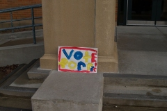 'Vote for Ric' sign