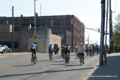 Riding East on Superior Street