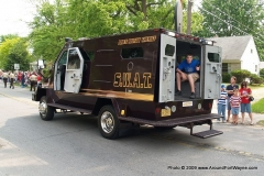 Allen County Sheriff's SWAT vehicle