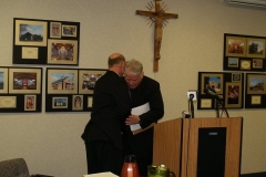 Bishops Rhoades and D'Arcy