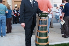 Mayor Tom Henry and the Turner Cup