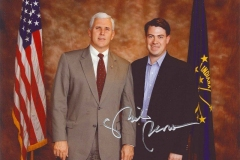 Congressman Pence and Jim Banks