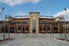 Parkview Field main entrance