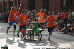 2010 TRF Bed Race: Green Frog