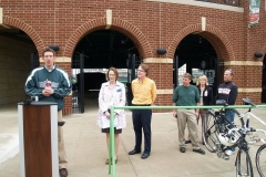 'Bike to the Ballpark Day' press conference