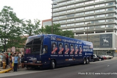 'Votes Have Consequences' Bus