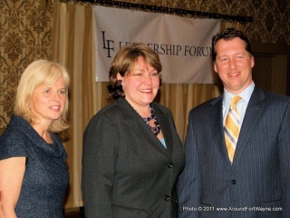 Liz Brown, Paula Hughes and Eric Doden