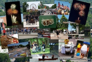 Three Rivers Festival collage