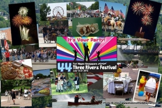 2012: Three Rivers Festival Collage