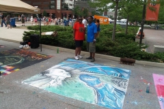 2012/07/15: Three Rivers Festival Chalk Walk