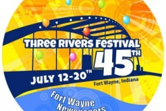 2013 Three Rivers Festival logo