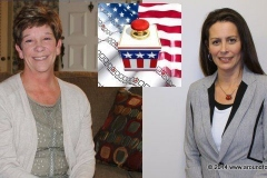 Bev Zuber and Jill Weikart