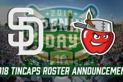 2018 TinCaps Roster Announcement