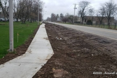 Hessen Cassel: Storm and sidewalk improvement