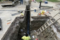 Southwood Park neighborhood water main