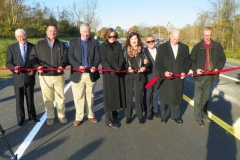 Flutter Road ribbon cutting