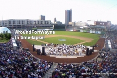 Parkview Field in AFW Time-lapse