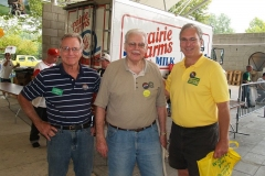 Dr. Tom Hayhurst, Dick Merren and Mitch Harper
