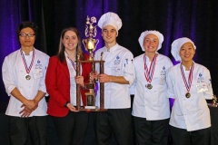 Carroll High School Culinary Team
