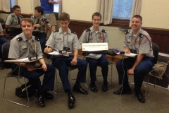 Concordia JROTC at Academic Competition