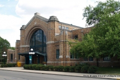 The northwest sides of the Baker Street Train Station