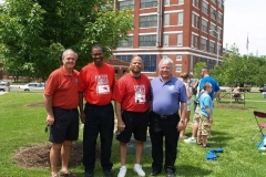 Al Moll, Bennie Lewis, Michael Ayers and Perry Ehresman