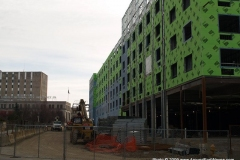 2009/12/17: Courtyard by Marriott Hotel progress