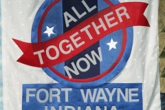 2009/12/17: Fort Wayne panel on the All-America City Quilt