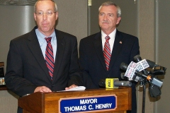 2011/09/12: Tim Haffner and Mayor Tom Henry