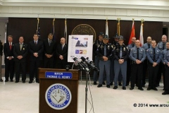 Gang and Violent Crimes Unit announcement