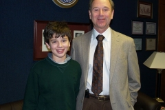 2009/02/27: Dr. John Crawford and son Grant