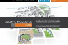 Building Momentum website