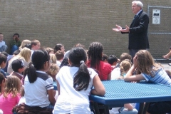 2010/05/20: Mayor Henry with Franke Parke Elementary students
