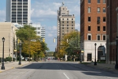East view on Berry Street
