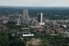 Three Rivers Festival aerial view
