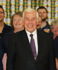 US Senator Richard Lugar