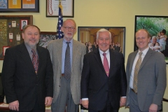 US Senator Richard Lugar with Sister City International representatives