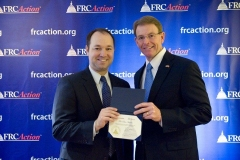 Rep. Stutzman and Tony Perkins