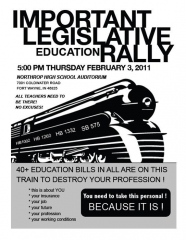 Legislative Education Rally