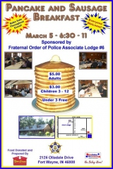 2011 F.O.P. Pancake and Sausage Breakfast