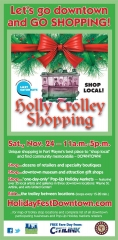 2012 Holly Trolley Shopping