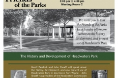 Headwaters Park Lecture