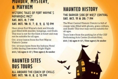 ARCH Haunted bus & walking tours