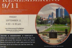 Day of remembrance, 9/11/2015